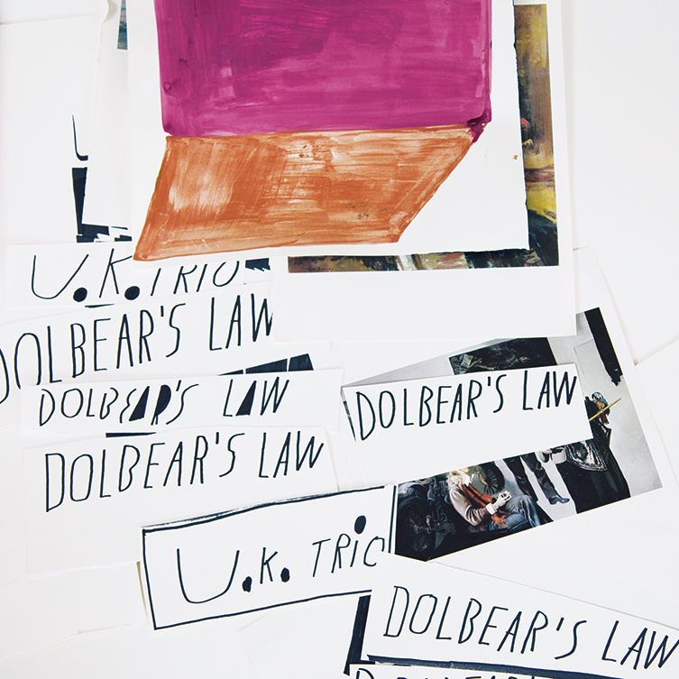 UK Trio Dolbera's Law Album Artwork